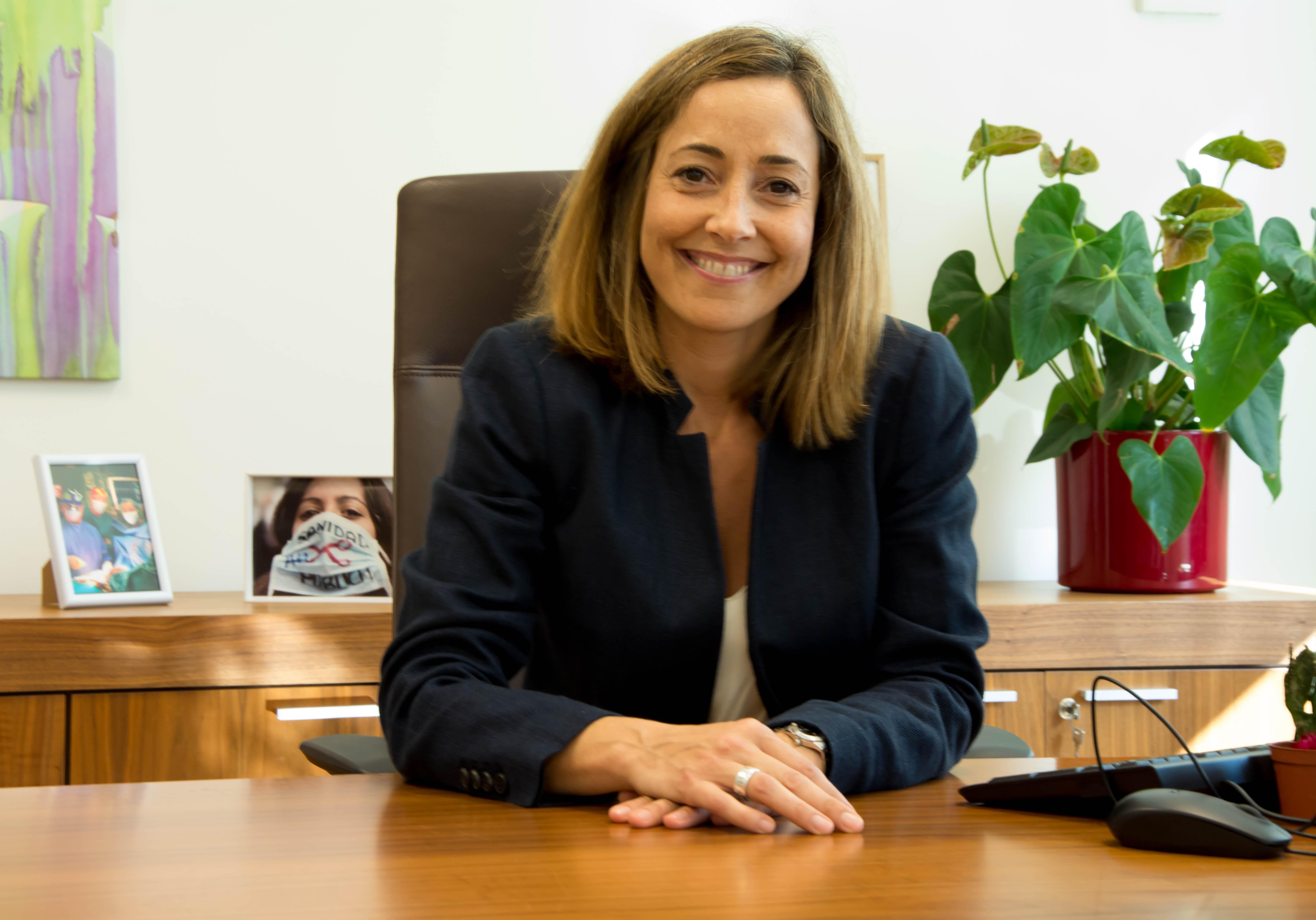 Dra. Mònica Almiñana Riqué, Gerent del Departament de Salut València La Fe
