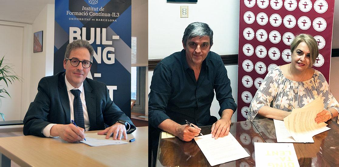 Convenio de colaboración IL3 y el colegío farmaceuticos de Cordoba-Argentina
