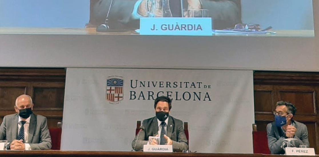 acto de clausura de los Programas Laude, una iniciativa conjunta del IL3-UB y el Banc Sabadell