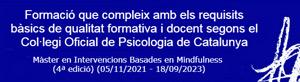 sello copc master mindfulness